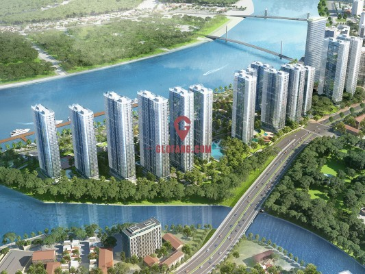 越南胡志明市VINHOMES GOLDEN RIVER项目
