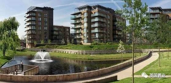 英国伦敦久负盛名学区地段 地标性建筑转型之作 豪华设施新型社区