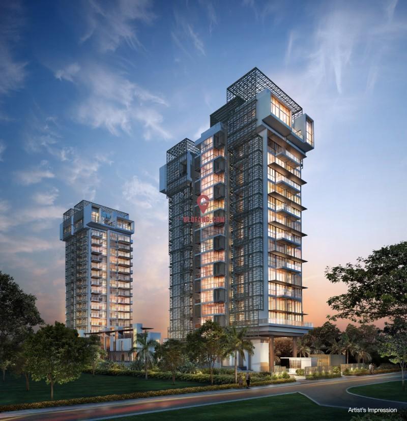 Marine Blue [马林百列] 永久地契豪华公寓