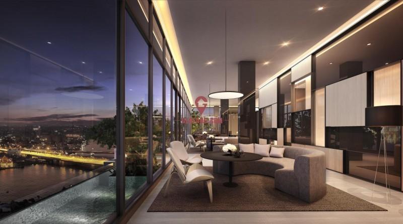 泰国芭提雅180度一线河景豪宅 精装修 靠地铁 风水绝佳 御江一号苑