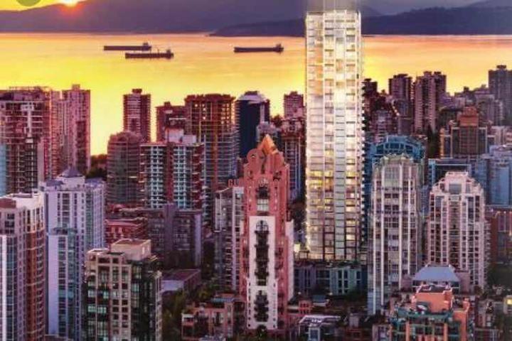 温哥华市中心两睡房公寓大减价