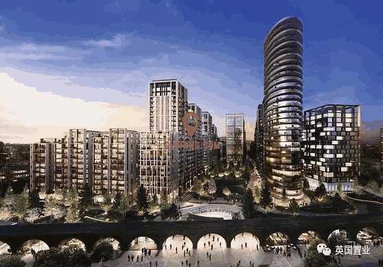 英国伦敦柏郦-帝国理工学区房 优异的小区绿化 便利的交通连接