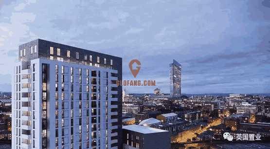 英国现房出售 One Regent 环境优美 社区安全 安静宜居