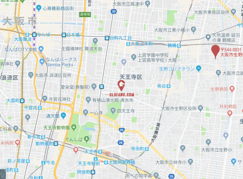日本大阪投资民宿用土地