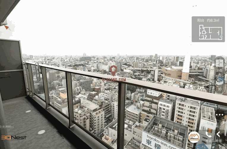 日本 东京 丰岛区 公寓,编号19789