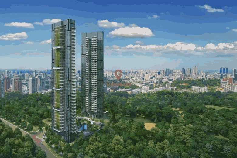 新加坡8 St Thomas 一居室