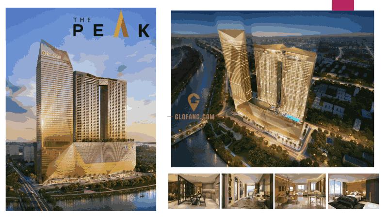 柬埔寨金边The Peak【奢华豪景公寓】香格里拉酒店为邻