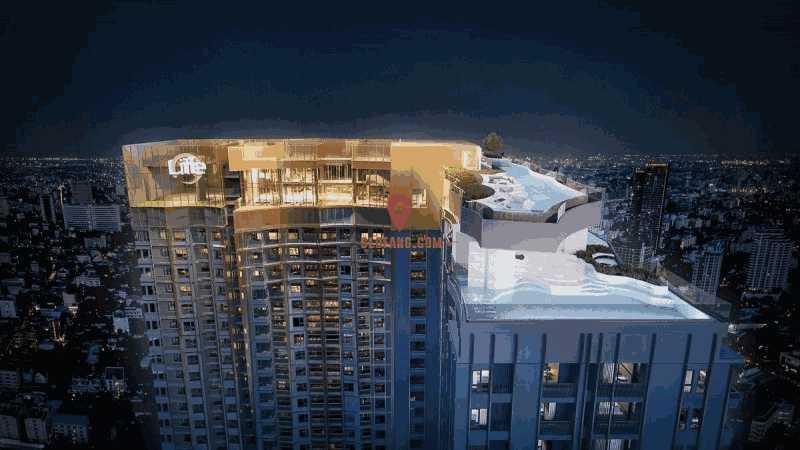 曼谷高端公寓 泰国前五开发商 中泰曼谷高铁总站-王者天玺