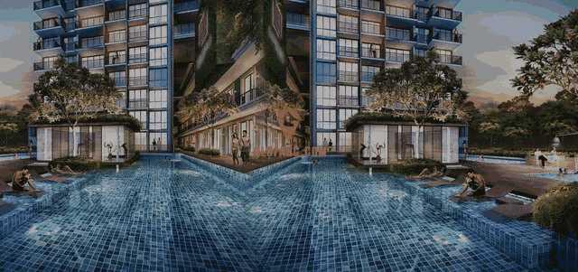新加坡Jui Residences 一居室