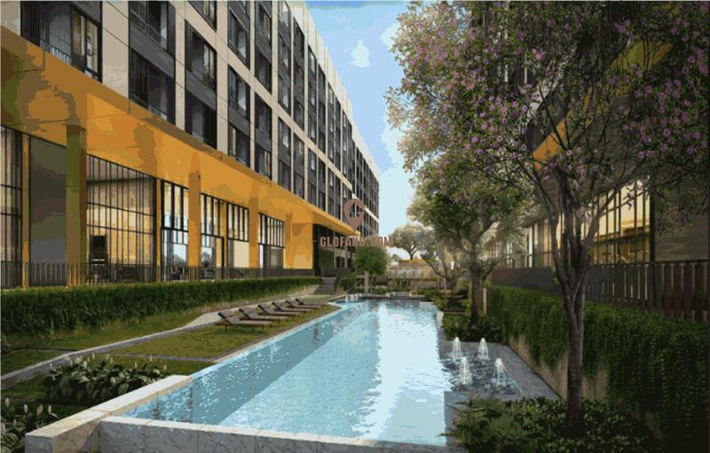 曼谷廊庭 上市开发商 同比周边其他项目具有价格优势