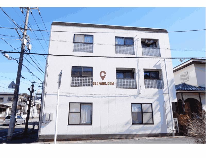 东京卫星城千叶小涉谷--柏市一栋满租公寓楼  9.88%
