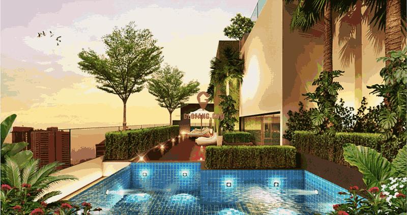 泰国曼谷市中心豪华公寓 双轨交汇 ¥2万多/平米-中央豪庭,编号20269