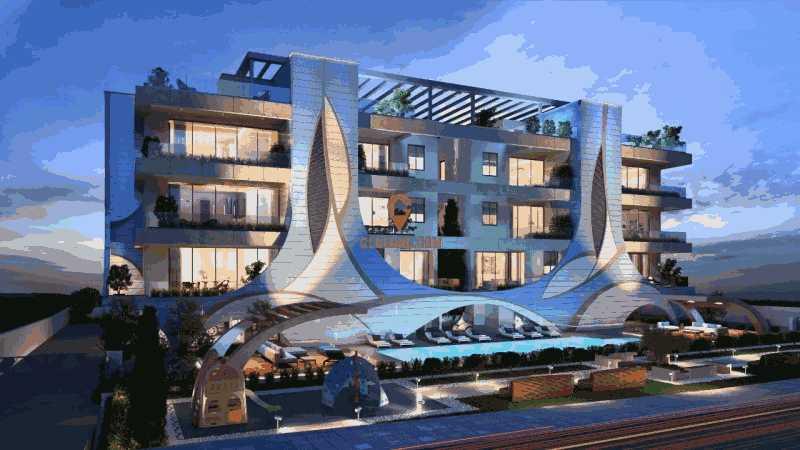 塞浦路斯利马索尔1卧1卫新房的房产
