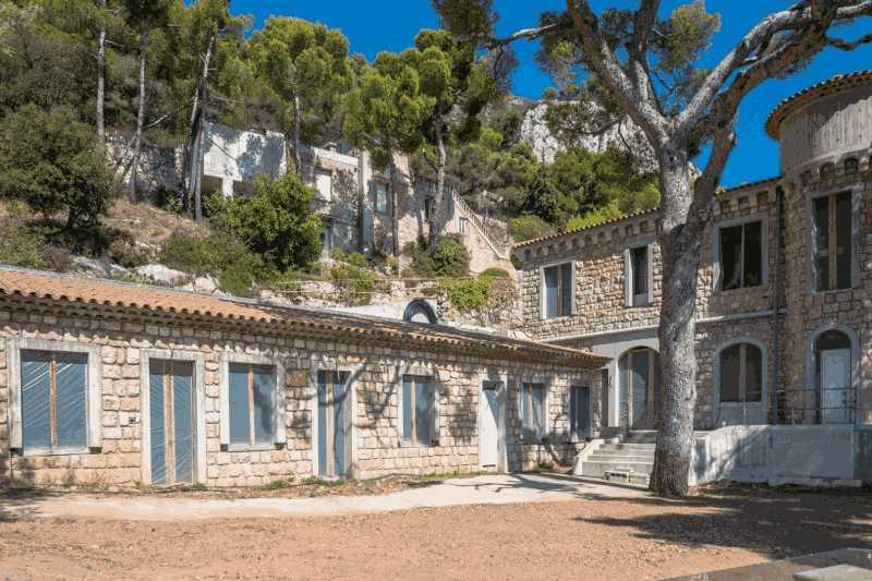 法国蔚蓝海岸费拉角城堡式庄园别墅,编号20390