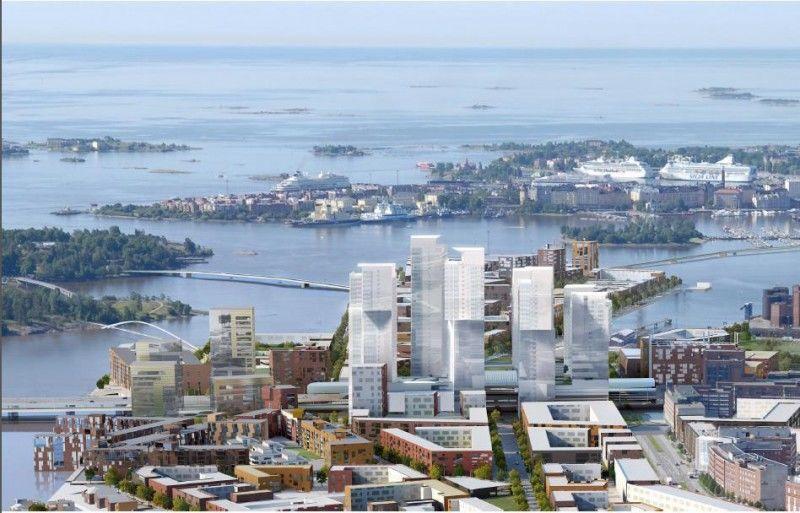 芬兰境内首栋摩天大楼 · 全新精装修公寓楼房