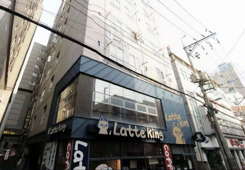韩国 釜山 繁华街 整栋出售