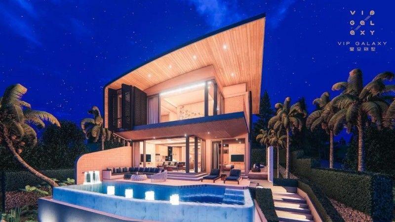 泰国VIP GALAXY 星空别墅 | 星空下的复式美宅