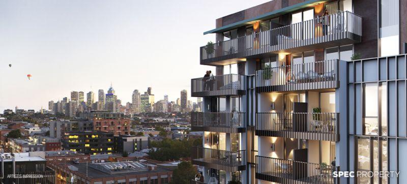 澳洲Collingwood 现房公寓,超大阳台,近电车站!
