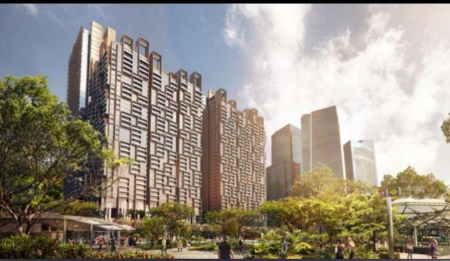 新加坡金融中心滨海盛景豪苑 即将建成,拿钥匙入住