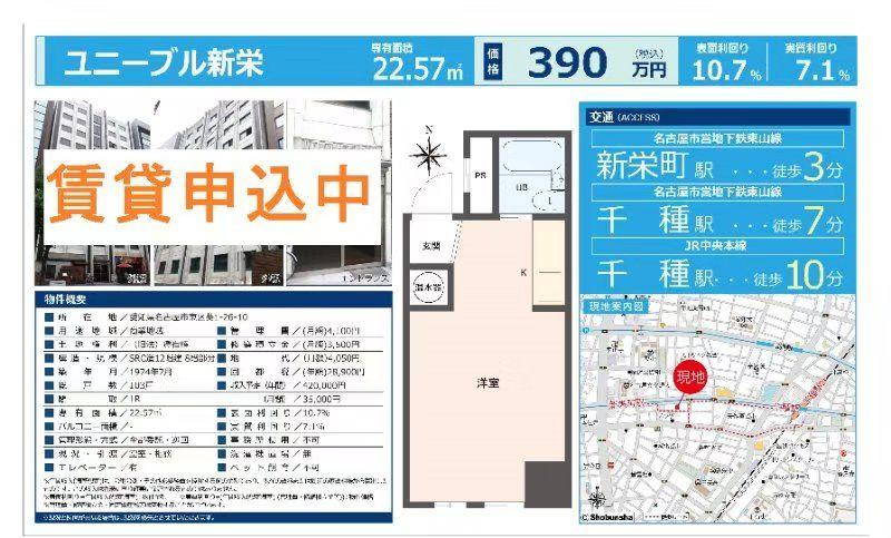 日本爱知县名古屋小公寓