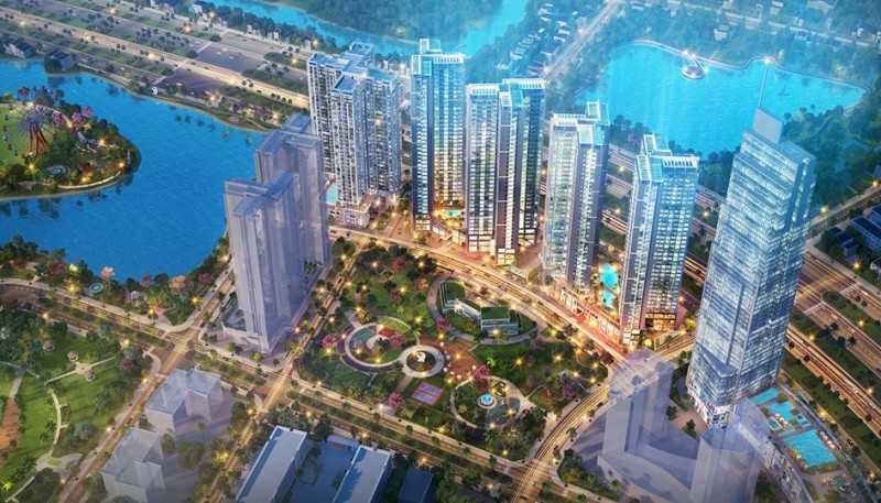 胡志明市ECO GREEN SAIGON 项目
