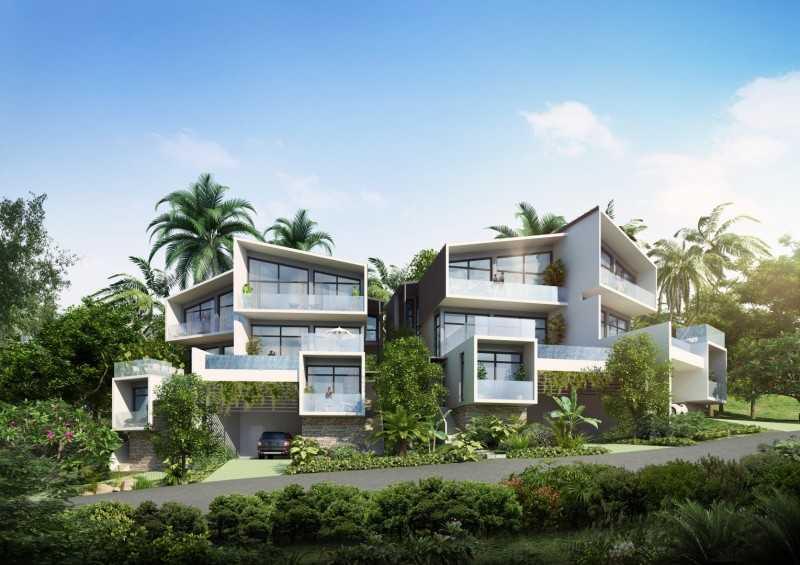 泰国苏梅岛 Horizon Villa 4 卧室海景别墅