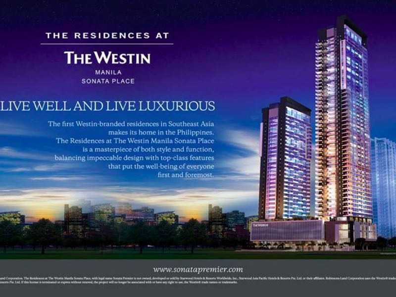 菲律宾The Residences at Westin 公寓
