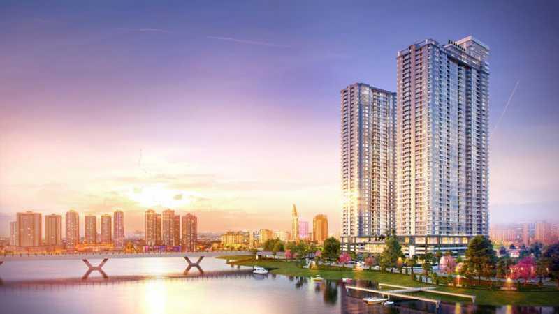 越南胡志明市高级公寓Sunwah Pearl