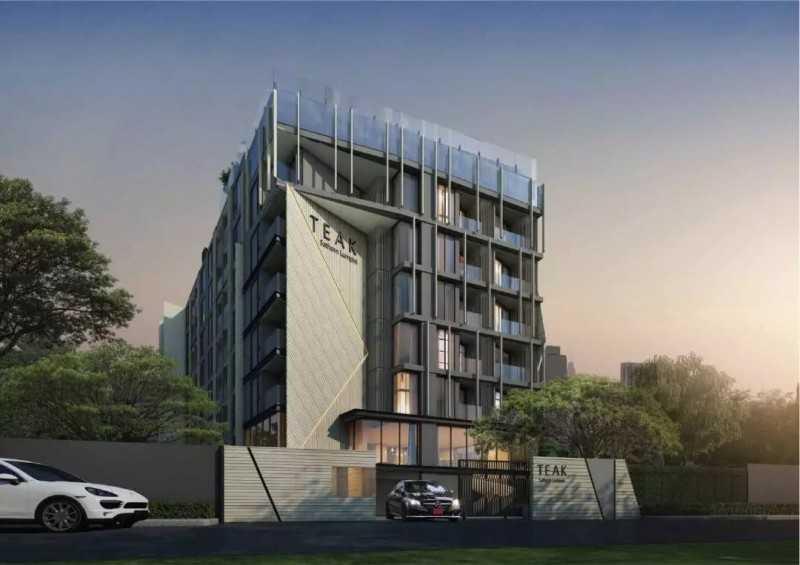 泰国曼谷CBD沙吞低密度公寓|The Teak