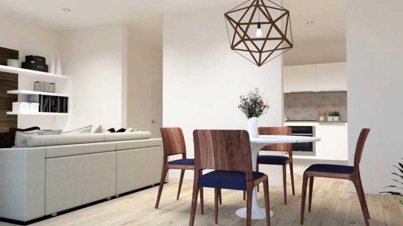 巴塞罗那海滨新富人区新装公寓