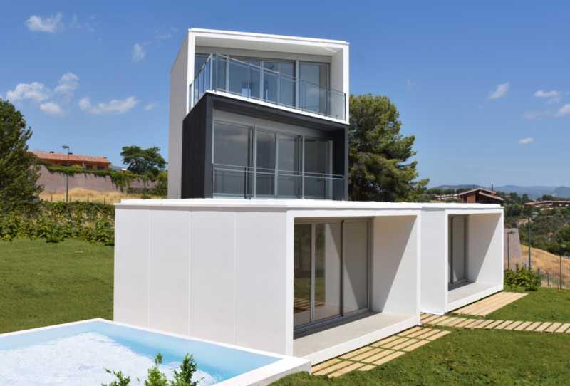 巴塞罗那灵活模块式现代主义景观别墅