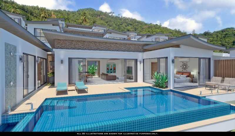 泰国苏梅岛 HH 3 卧室别墅 (HS0621)