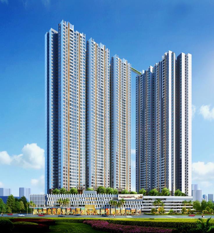 柬埔寨精装装修公寓 富力金边中心城·华庭 美元资产 永久产权,编号24592