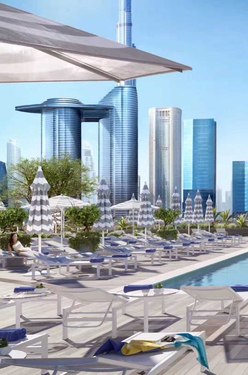 迪拜EMAAR伊玛尔酒店ROVE 托管首付8万-可贷款50%