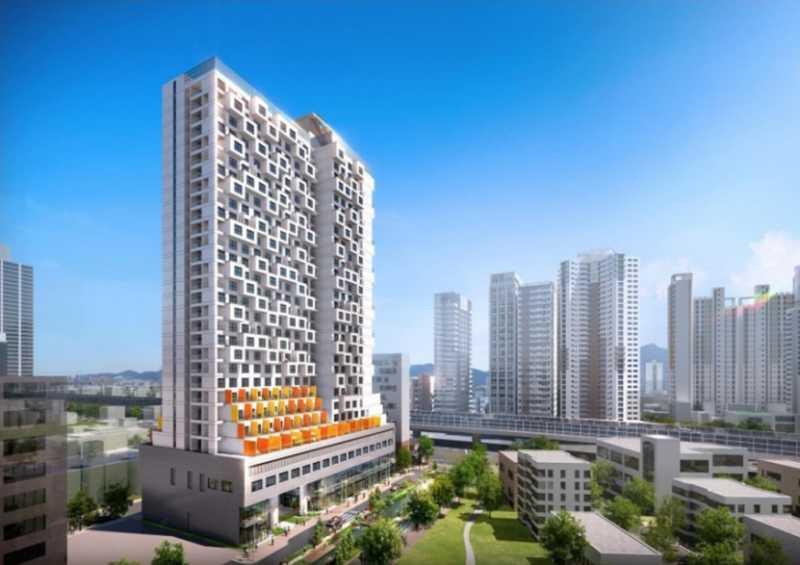 釜山中心地区 西面 公寓投资项目