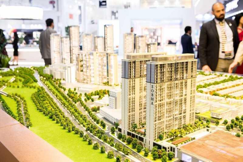 迪拜市区,美丹SOBHA Hartland -学区房、准现房