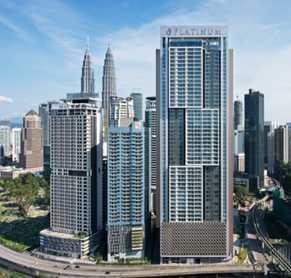 吉隆坡面谱铂金轩奢华公寓第二期 THE FACE