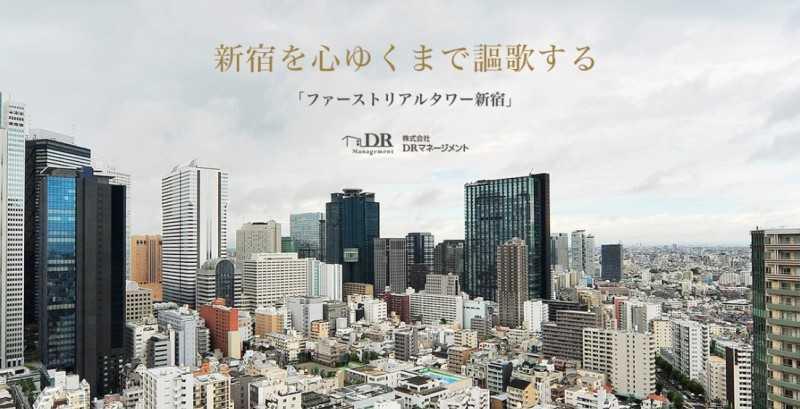 日本西新宿高层塔楼高级公寓,2套打包出售