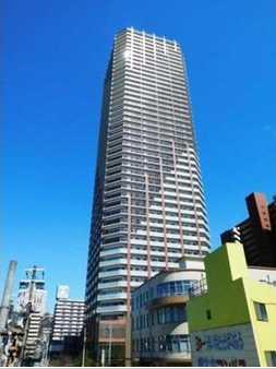 大阪市西区江之子島 高级公寓顶楼