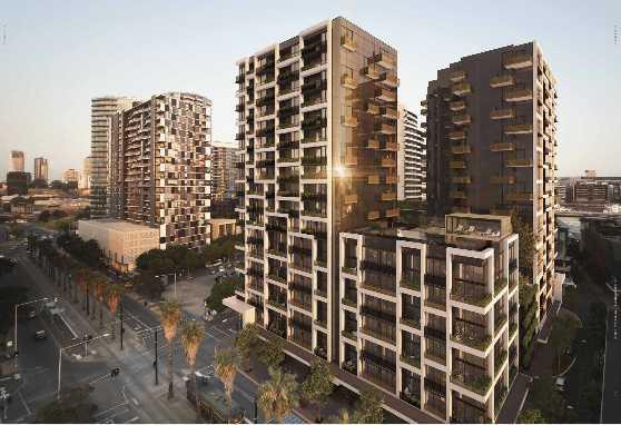 墨尔本Docklands滨海港区 精品绿色低密度公寓!