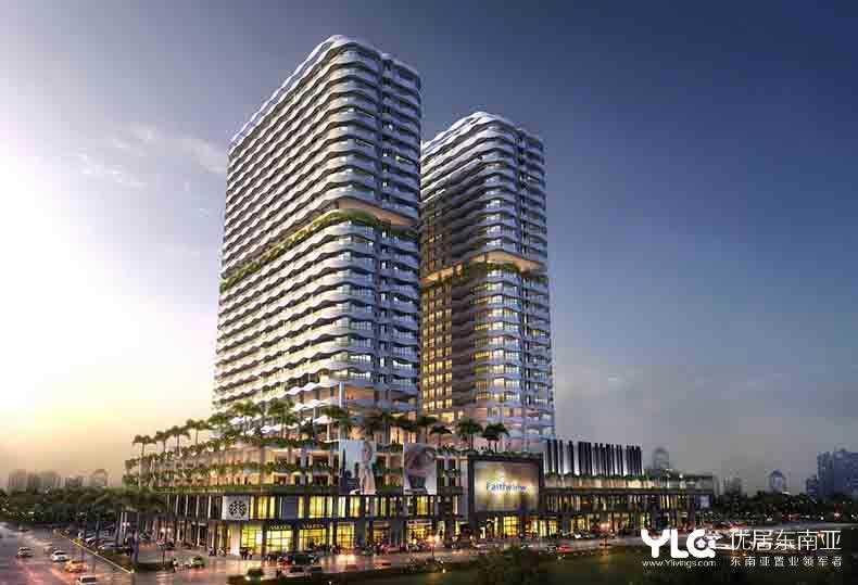马来西亚 马六甲 The Wave精品公寓