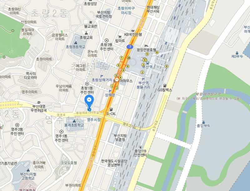 韩国 釜山 釜山站附近 公寓楼整栋出售,编号25225