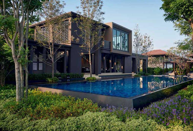 泰国清迈兰纳天府独栋别墅|轻松实现隐居别墅梦