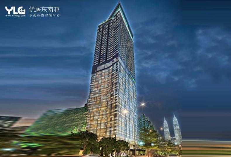 马来西亚 吉隆坡 LATITUD8公寓 邻轻轨 近双子塔