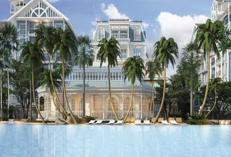 泰国芭提雅佛罗里达公寓|双重水系海景大宅,离海80米