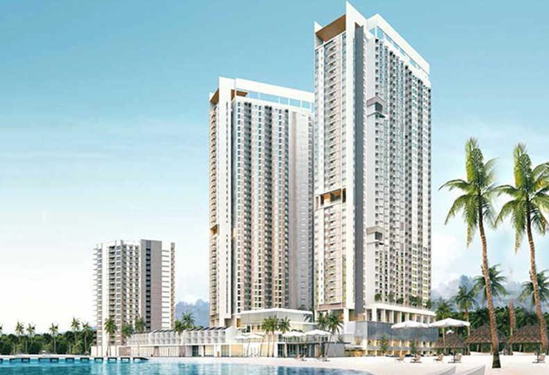 马来西亚 兰卡威 珍南海滨酒店式海景公寓 150米阳台看海