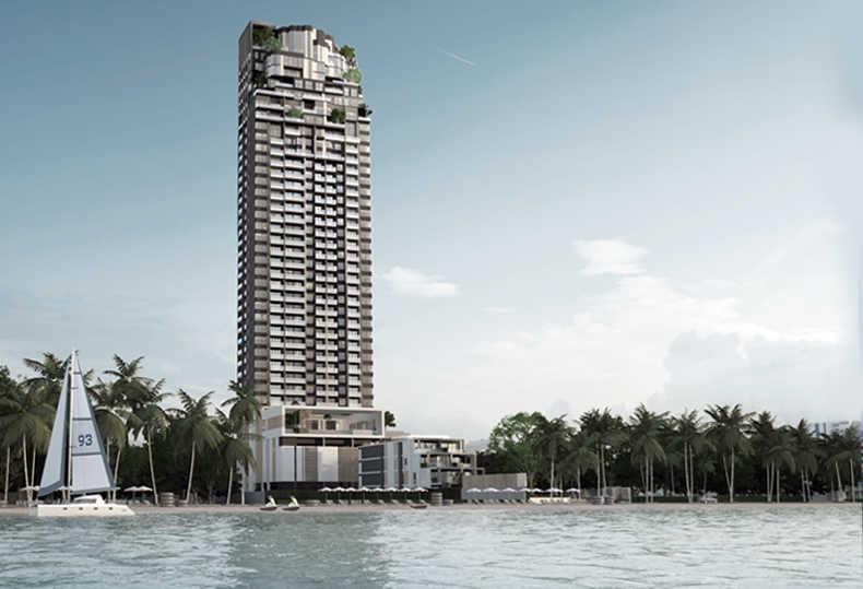 泰国芭提雅中天海滩艾瑞丝豪华公寓|拥抱180度一线海景