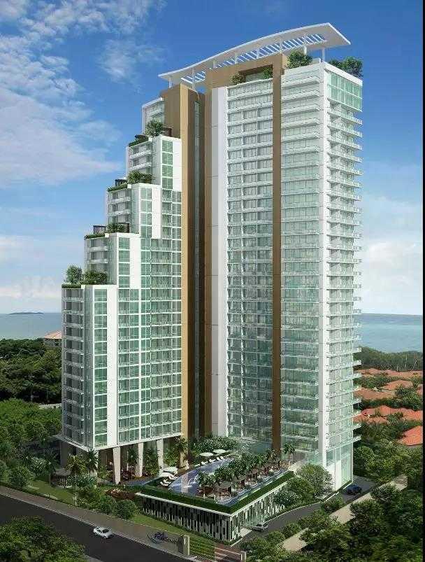 泰国 芭堤雅 顶峰公寓 一线海景房 仅50万起 低单价