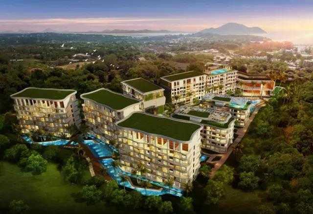 泰国 普吉 水星之城  Mercury 50万买一线海景房