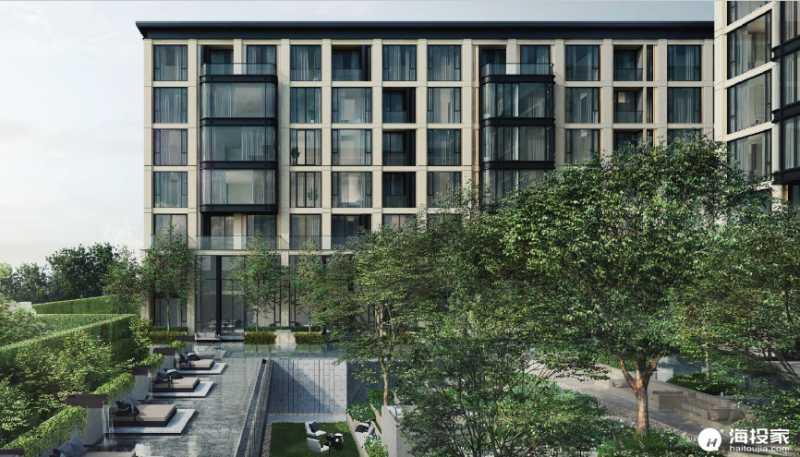曼谷 隐秘花园:核心地段的奢华住宅,商业配套成熟